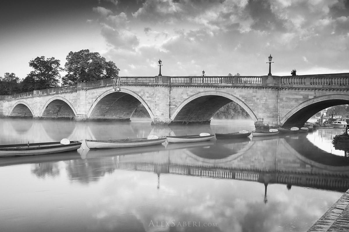 Richmond bridge photo print.